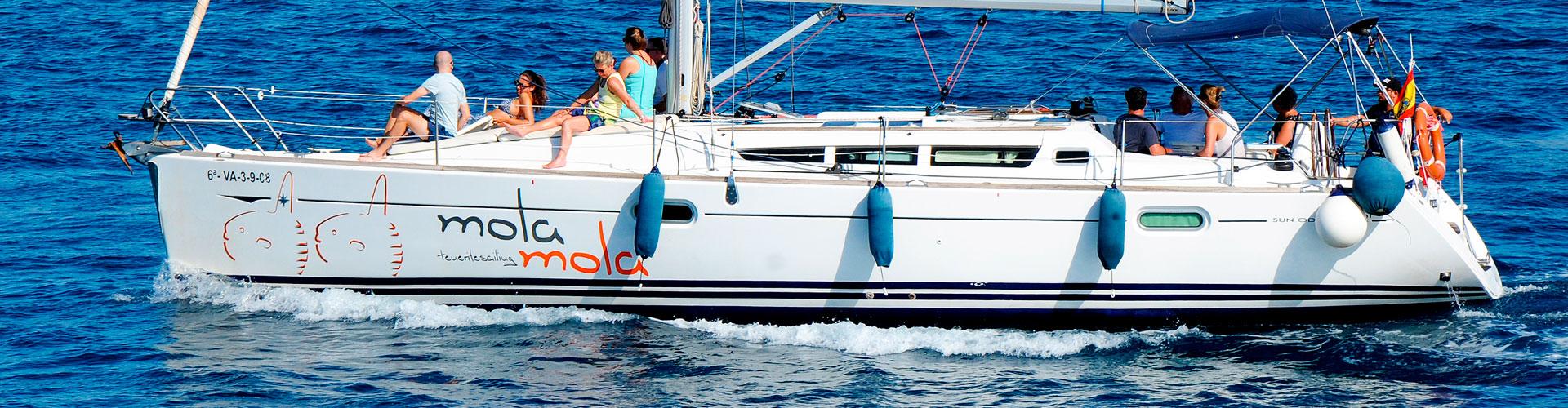 Segelschiff Mola Mola