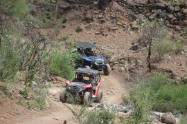 Buggy in the Tenerife mountain