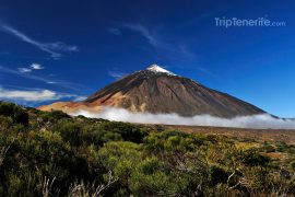Teide massive volcan