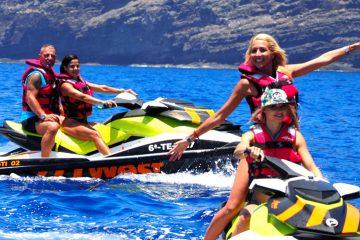 Jetski West Tenerife with Friends