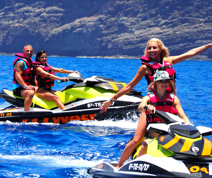 Jetski West Tenerife with Friends