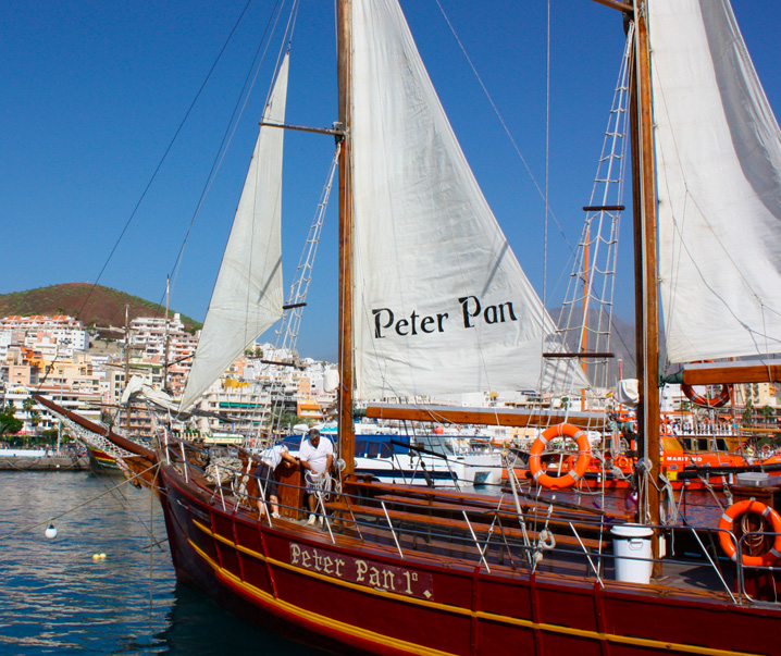 Boat Trip with Peter Pan Pirate Ship in Tenerife - Book with