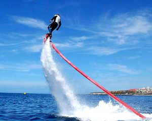 Man enjoying the Fly Board