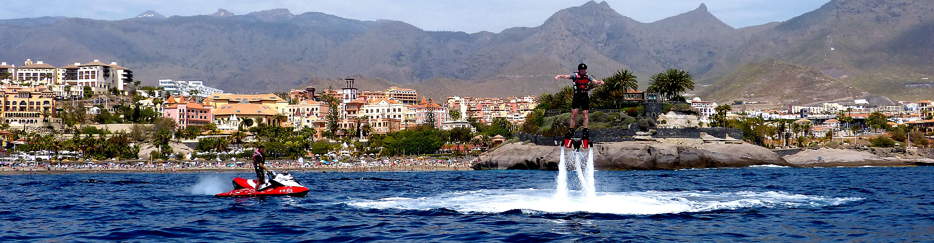 Watersporten in Tenerife