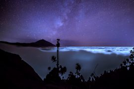 Stars Teide Night