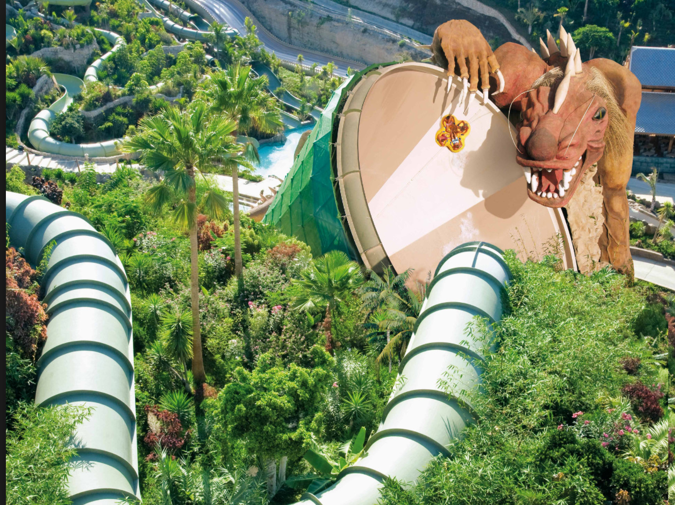 Siam park attraction du Dragon