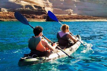 Kayak Paddle Couple